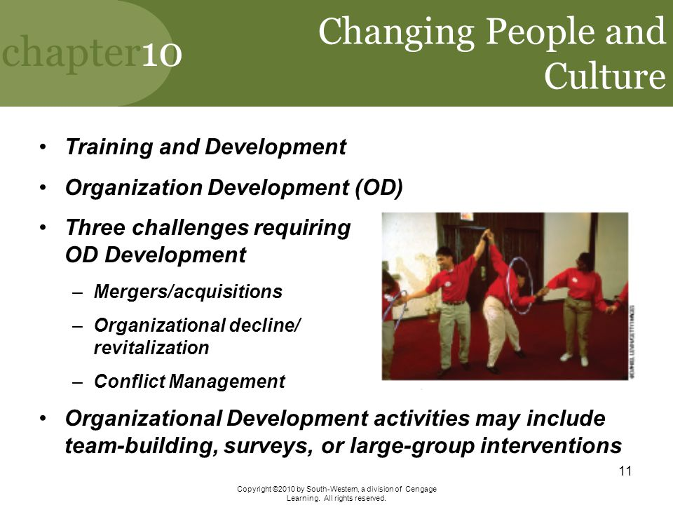 Changing People and Culture