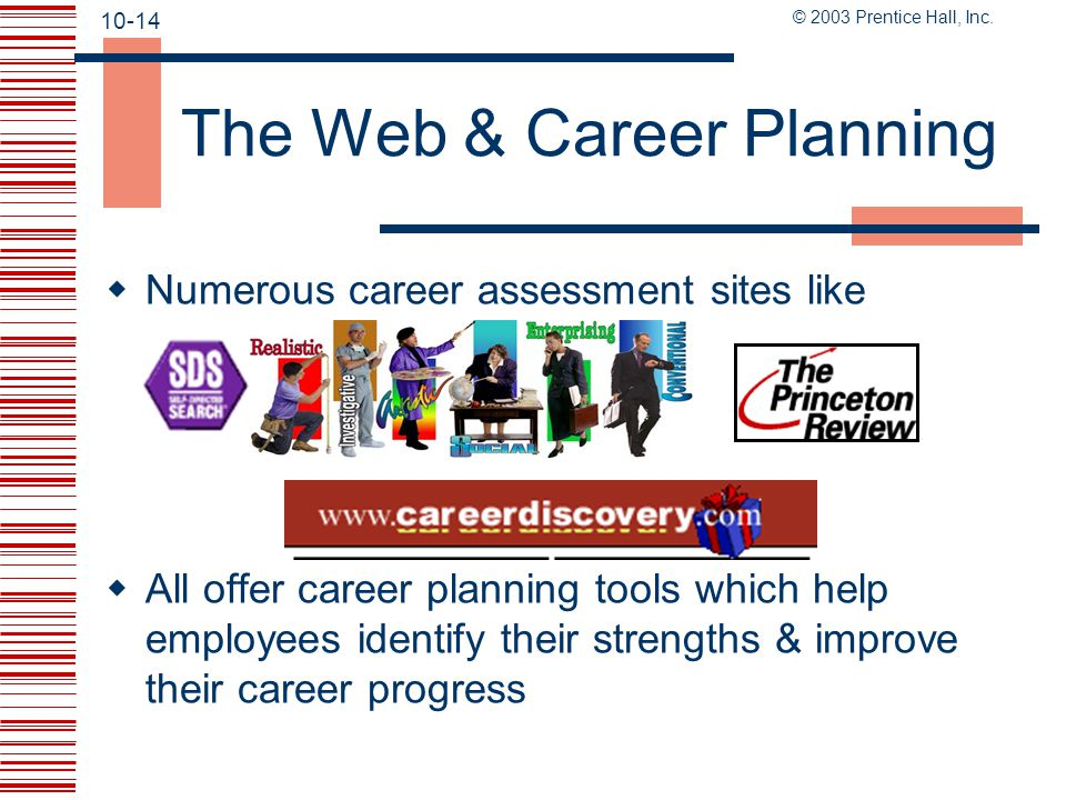 The Web & Career Planning