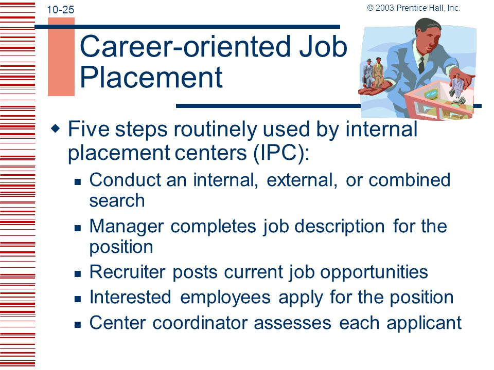 Career-oriented Job Placement