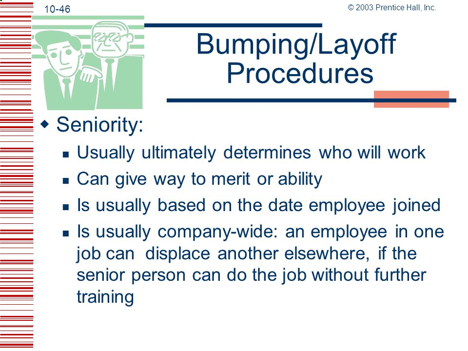 Bumping/Layoff Procedures