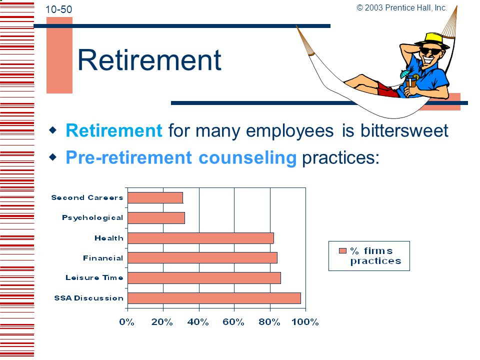 Retirement Retirement for many employees is bittersweet
