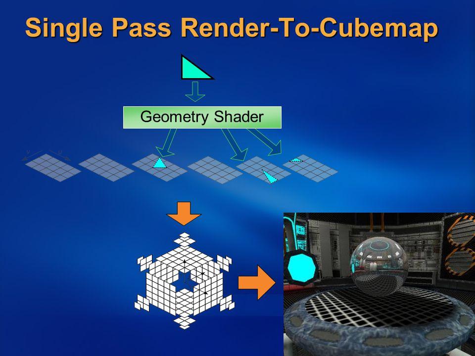 Single Pass Render-To-Cubemap