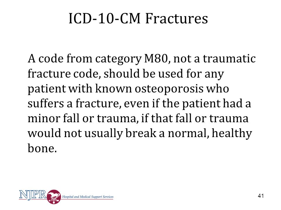 ICD-10-CM Fractures