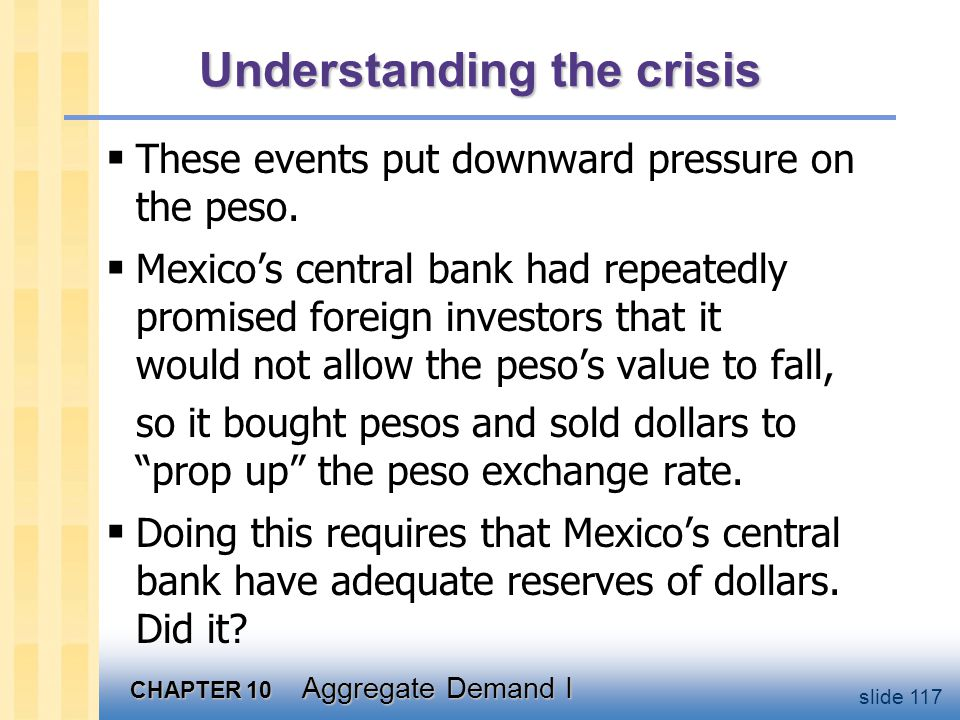 Dollar reserves of Mexico's central bank