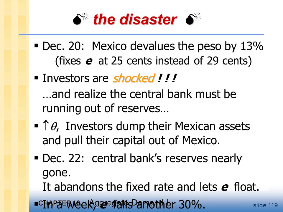 The rescue package 1995: U.S. & IMF set up $50b line of credit to provide loan guarantees to Mexico's govt.