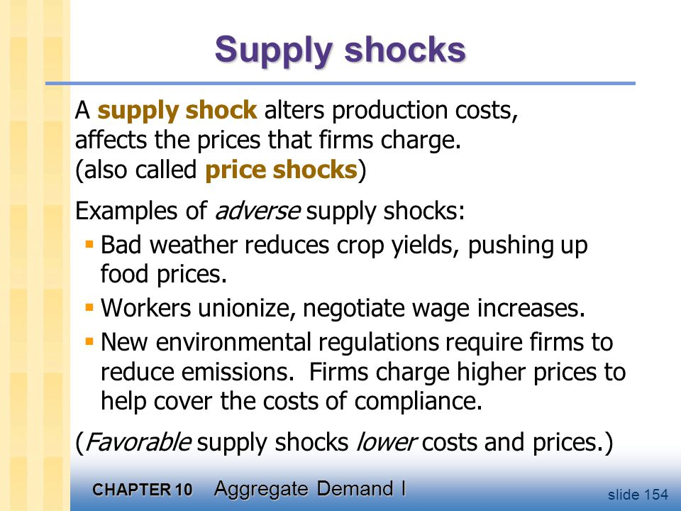 CASE STUDY: The 1970s oil shocks
