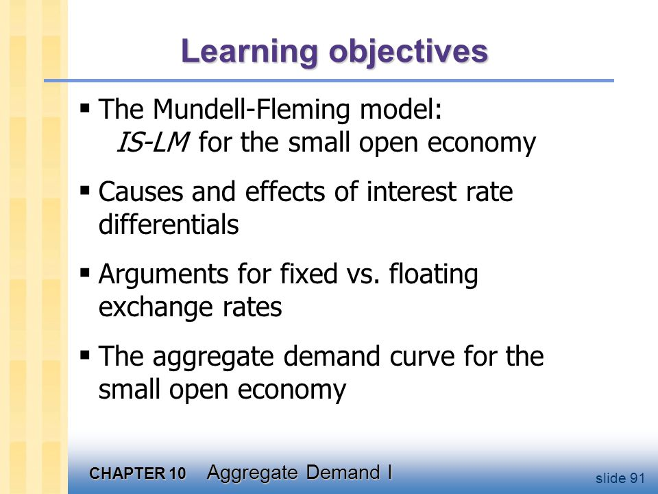The Mundell-Fleming Model