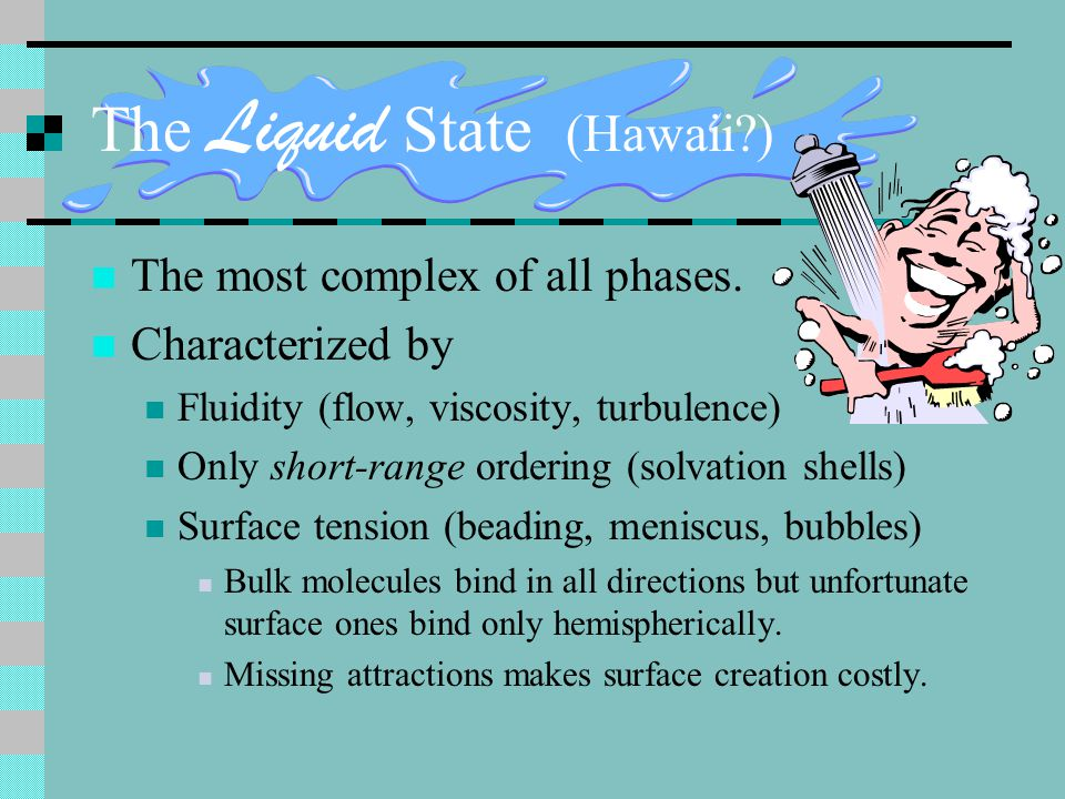 The Liquid State (Hawaii )
