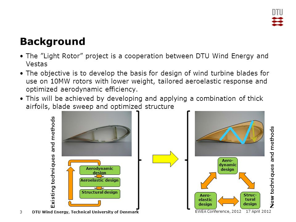 Background The Light Rotor project is a cooperation between DTU Wind Energy and Vestas.