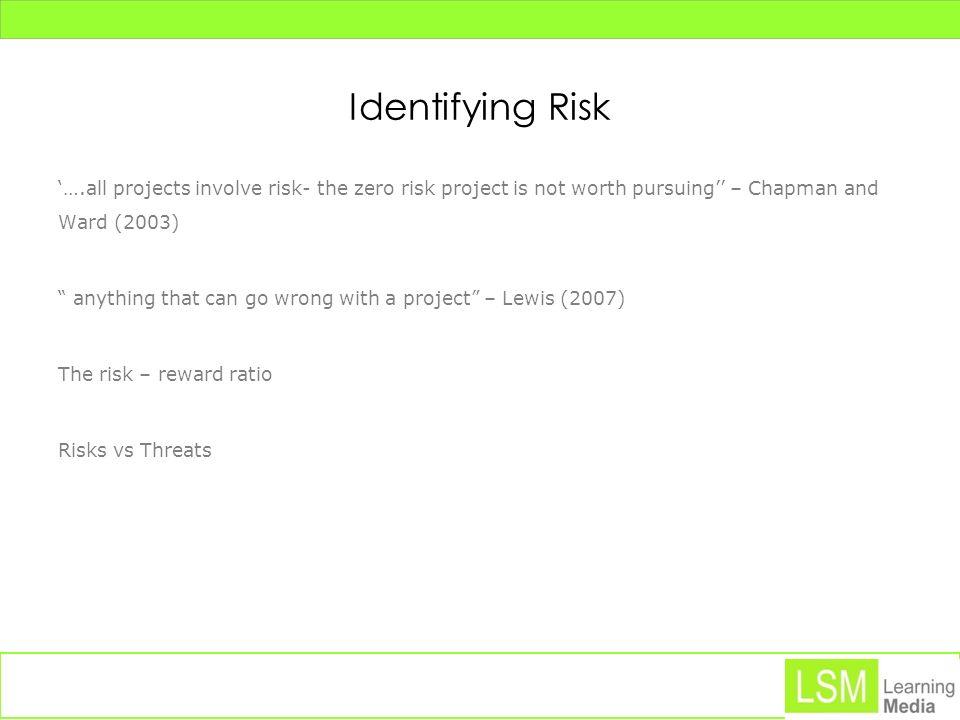 Identifying Risk