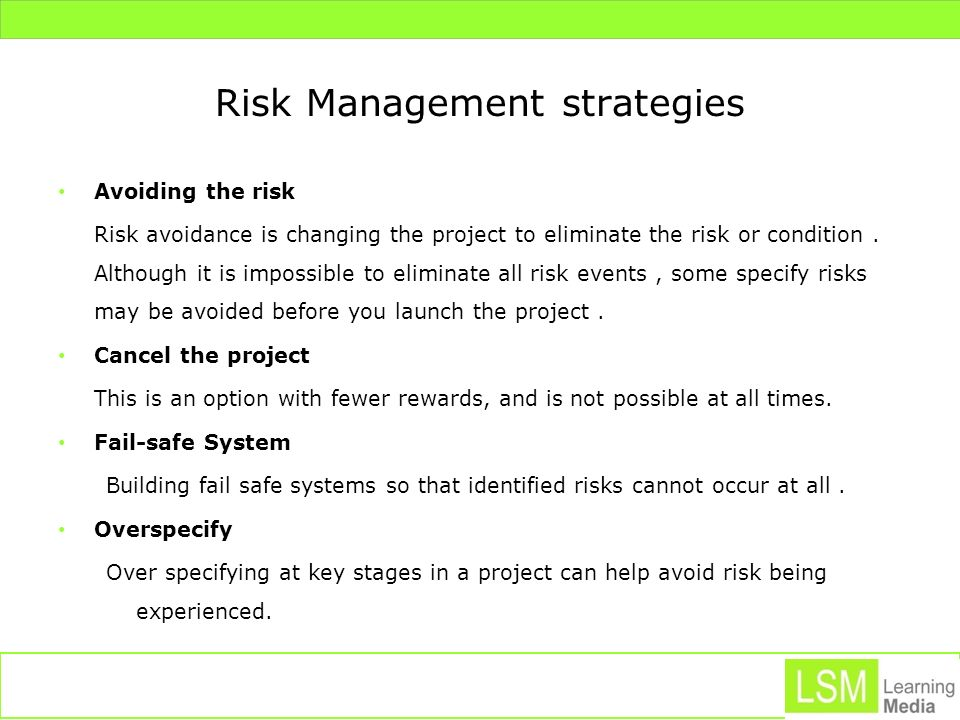 Risk Register Development