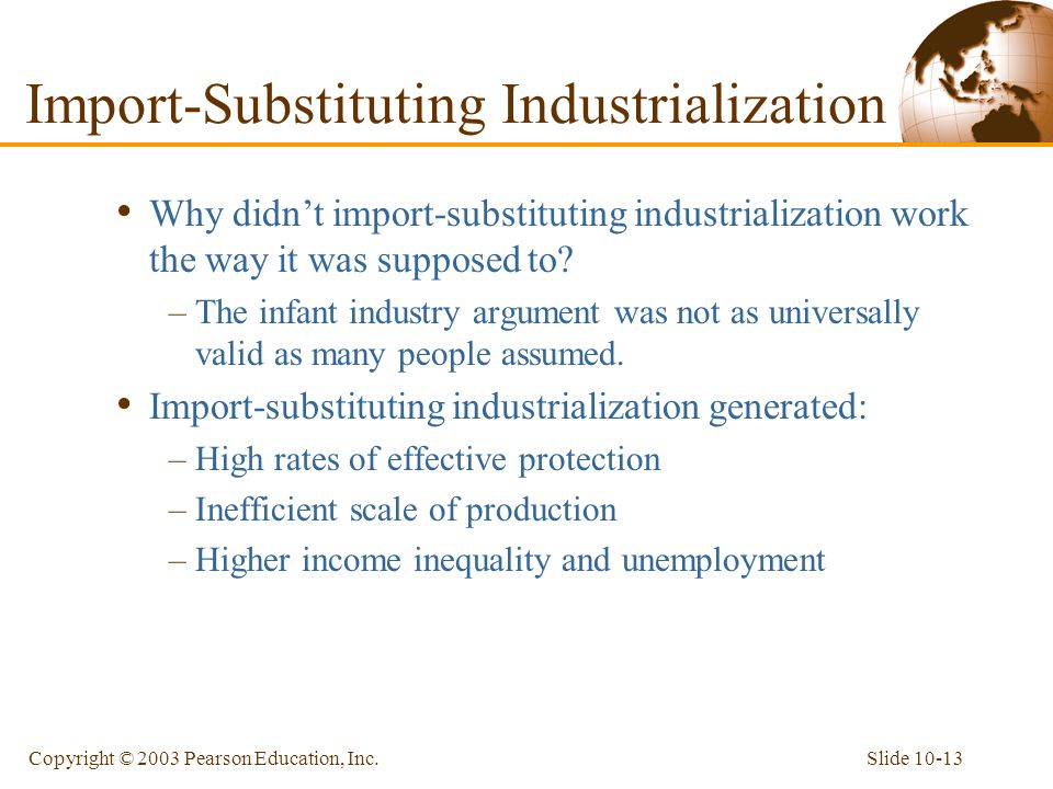 Import-Substituting Industrialization