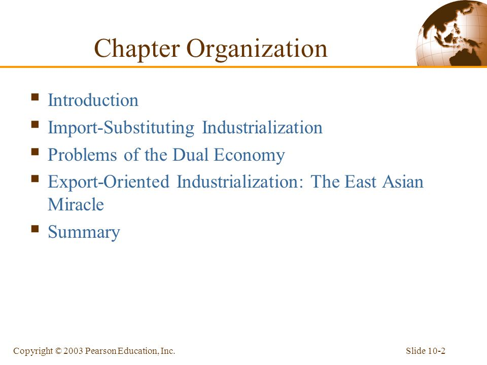 Chapter Organization Introduction