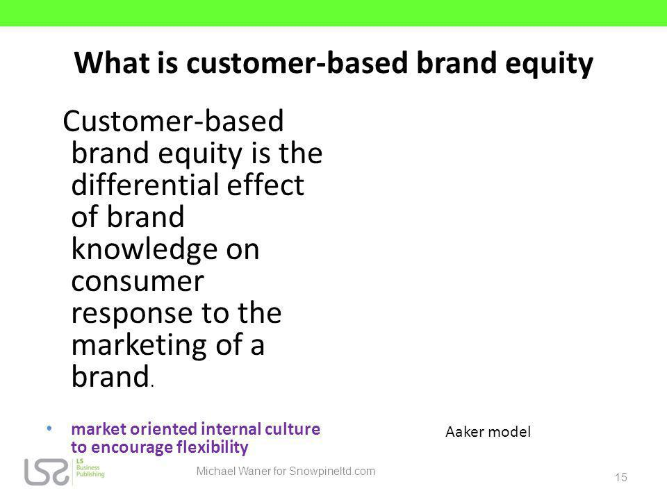 What is customer-based brand equity