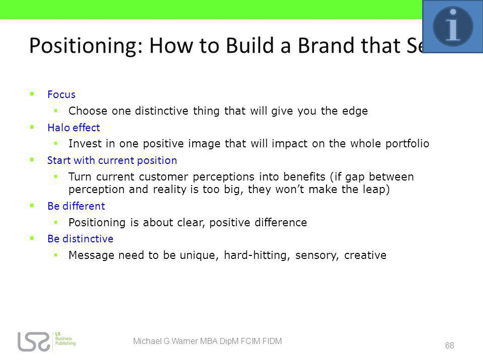 Positioning: How to Build a Brand that Sells