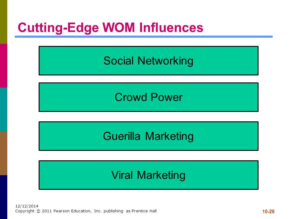 Cutting-Edge WOM Influences
