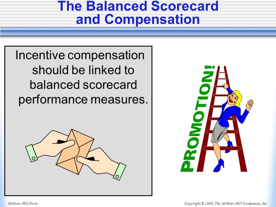 The Balanced Scorecard and Compensation