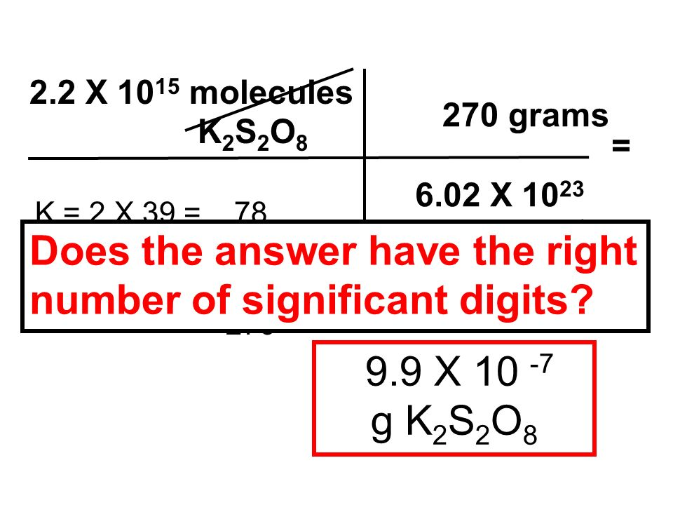 Does the answer have the right number of significant digits