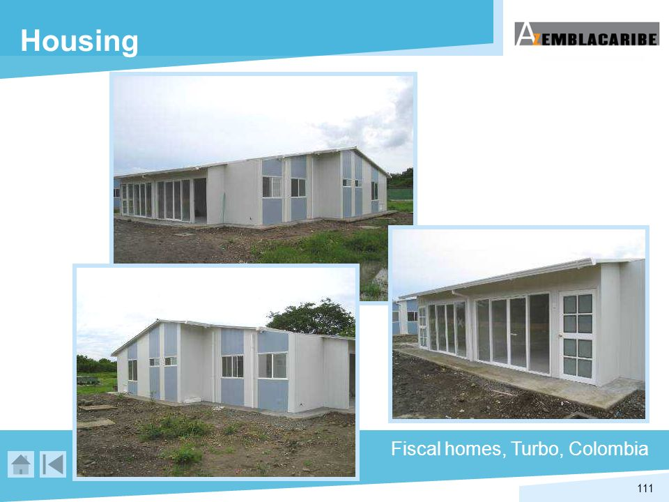 Housing Fiscal homes, Turbo, Colombia
