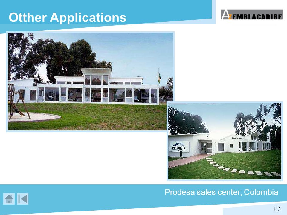 Otther Applications Prodesa sales center, Colombia