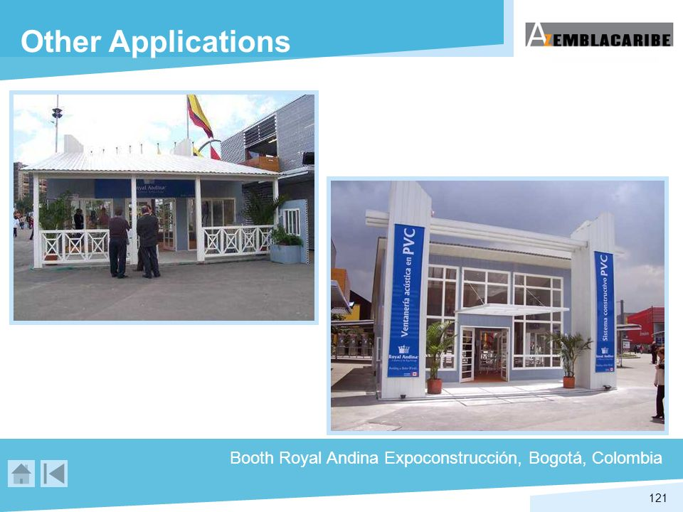 Other Applications Booth Royal Andina Expoconstrucción, Bogotá, Colombia
