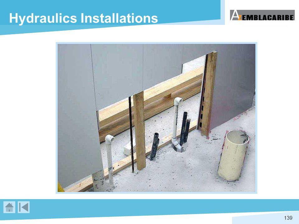 Hydraulics Installations