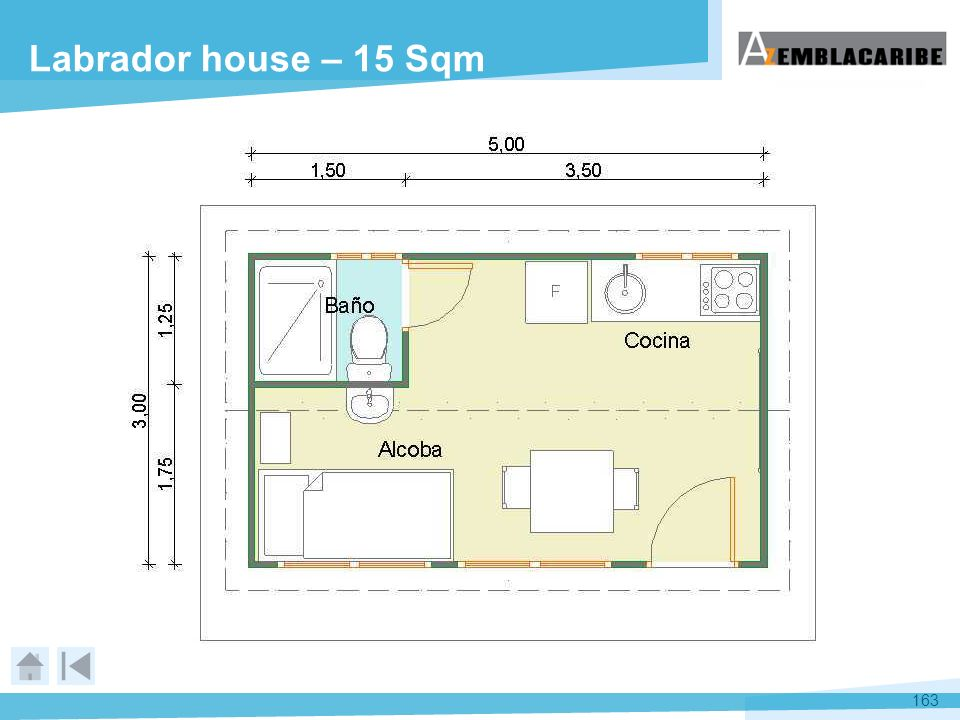 Labrador house – 15 Sqm