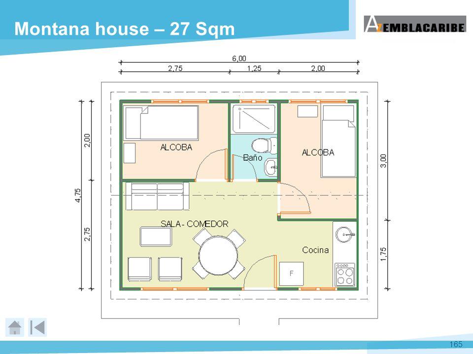 Montana house – 27 Sqm