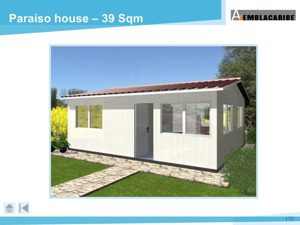 Paraíso house – 39 Sqm