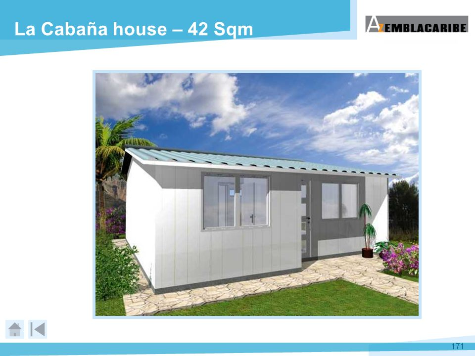 La Cabaña house – 42 Sqm