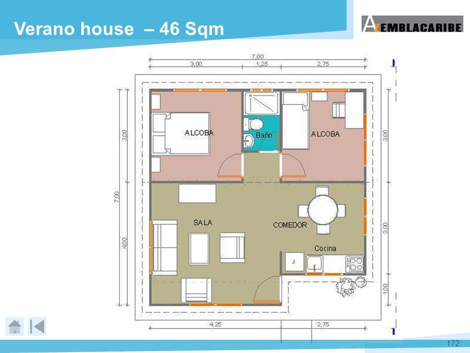 Verano house – 46 Sqm