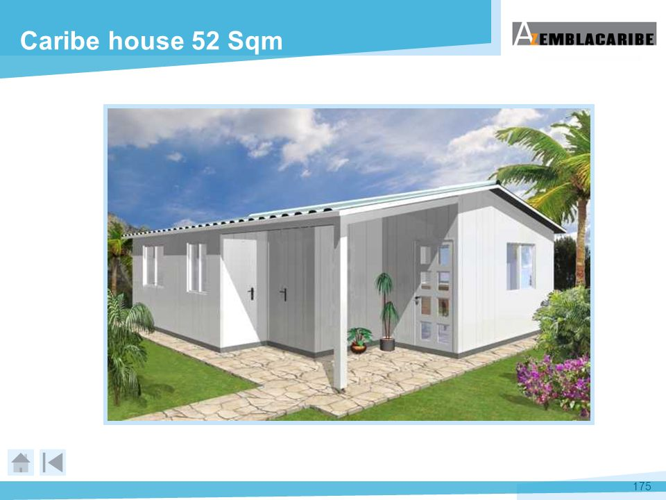 Caribe house 52 Sqm