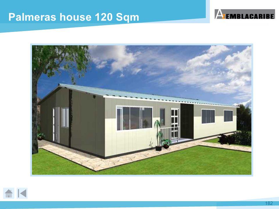 Palmeras house 120 Sqm