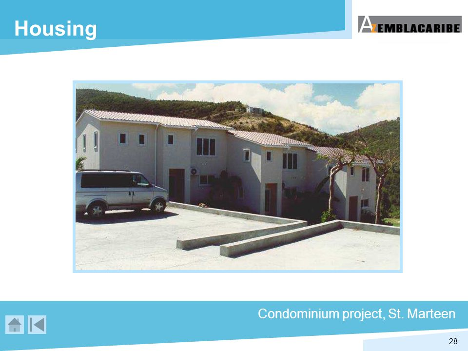 Housing Condominium project, St. Marteen