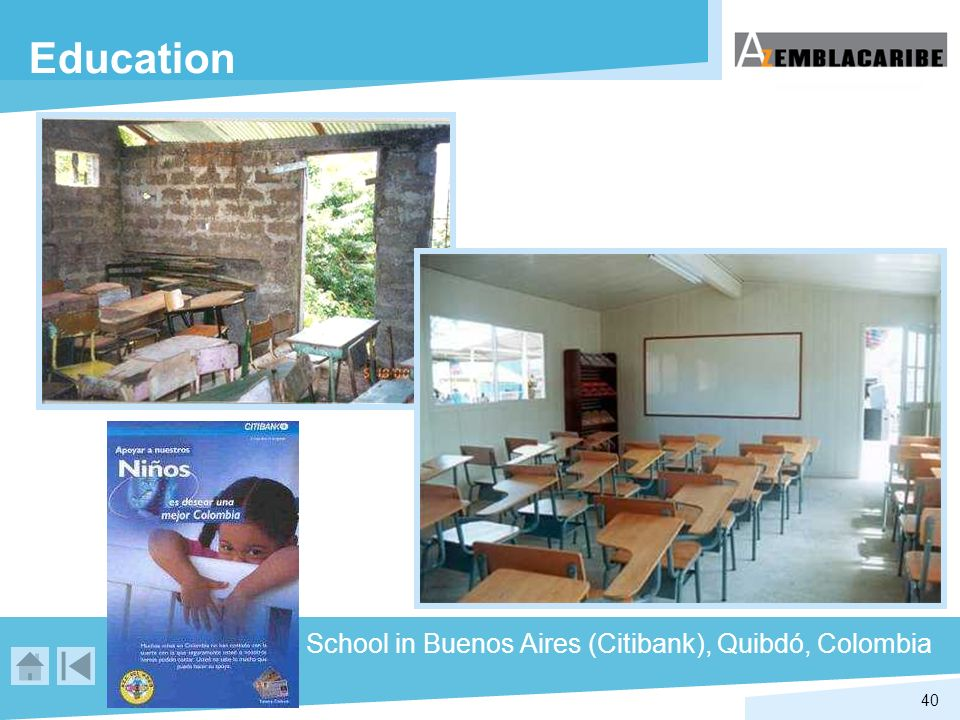 Education School in Buenos Aires (Citibank), Quibdó, Colombia
