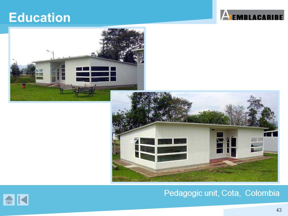 Education Pedagogic unit, Cota, Colombia