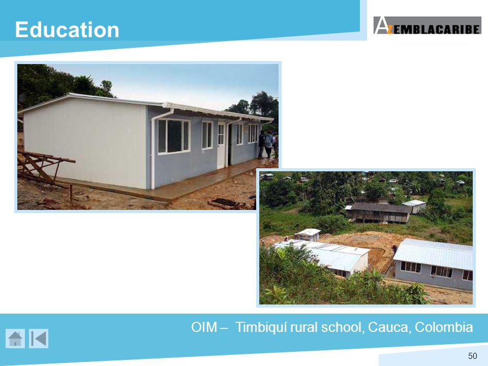 Education OIM – Timbiquí rural school, Cauca, Colombia