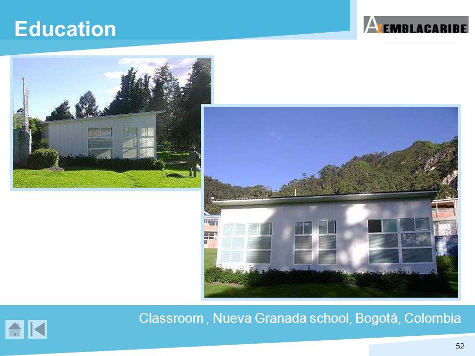 Education Classroom , Nueva Granada school, Bogotá, Colombia