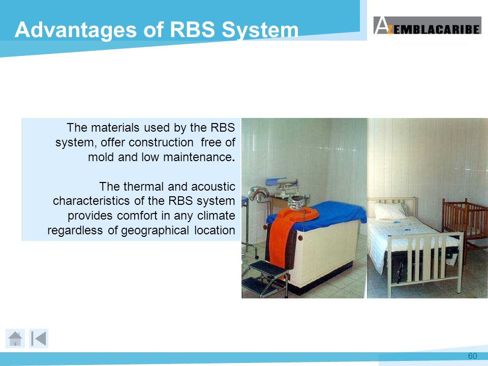 Advantages of RBS System