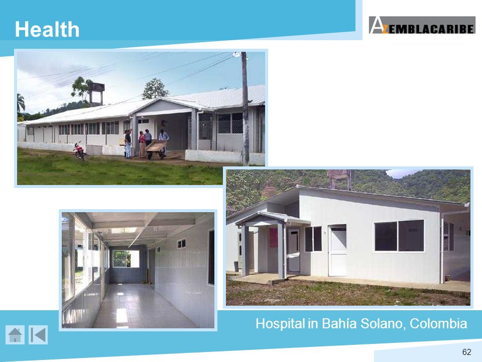 Health Hospital in Bahía Solano, Colombia