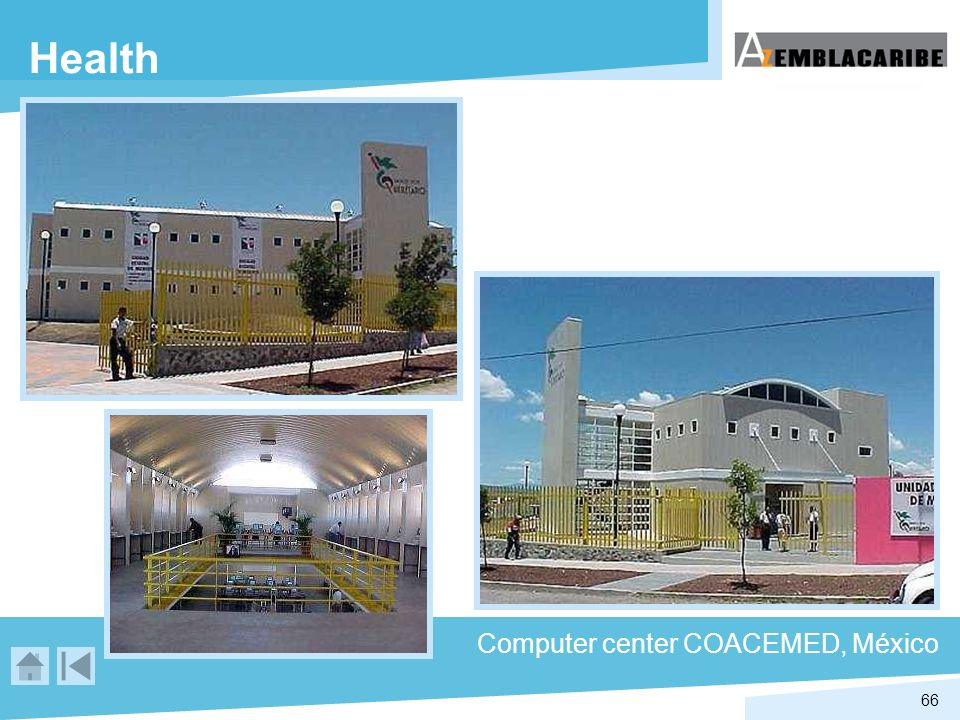 Health Computer center COACEMED, México