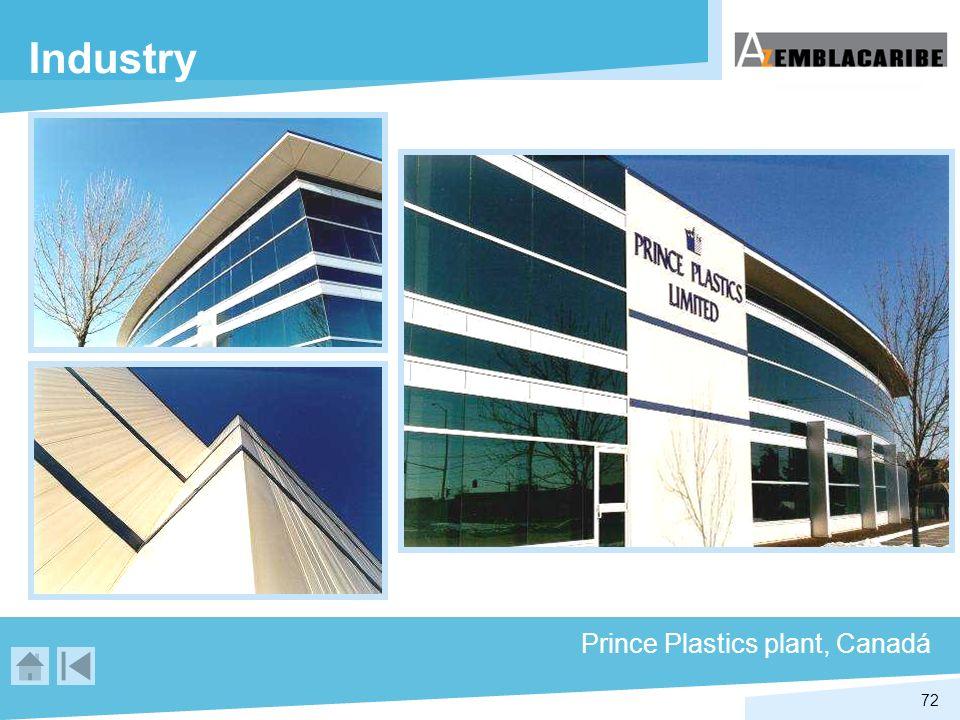 Industry Prince Plastics plant, Canadá
