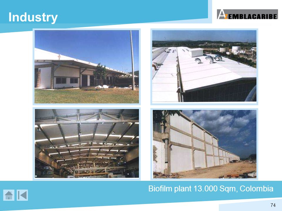 Industry Biofilm plant 13.000 Sqm, Colombia