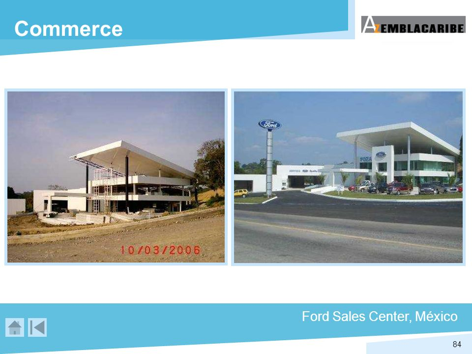 Commerce Ford Sales Center, México