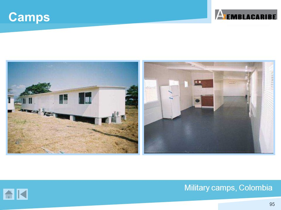 Camps Military camps, Colombia