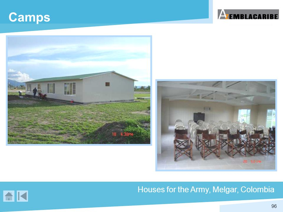 Camps Houses for the Army, Melgar, Colombia