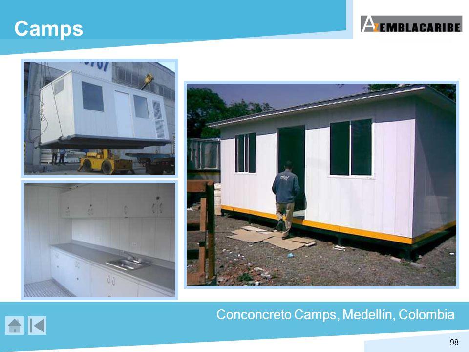 Camps Conconcreto Camps, Medellín, Colombia