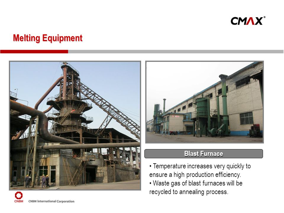 Melting Equipment Blast Furnace