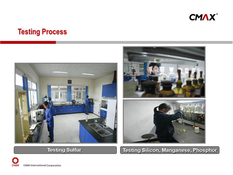 Testing Silicon, Manganese, Phosphor