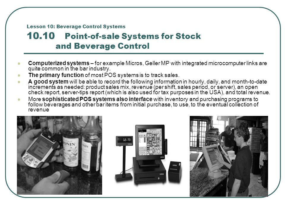 The primary function of most POS systems is to track sales.